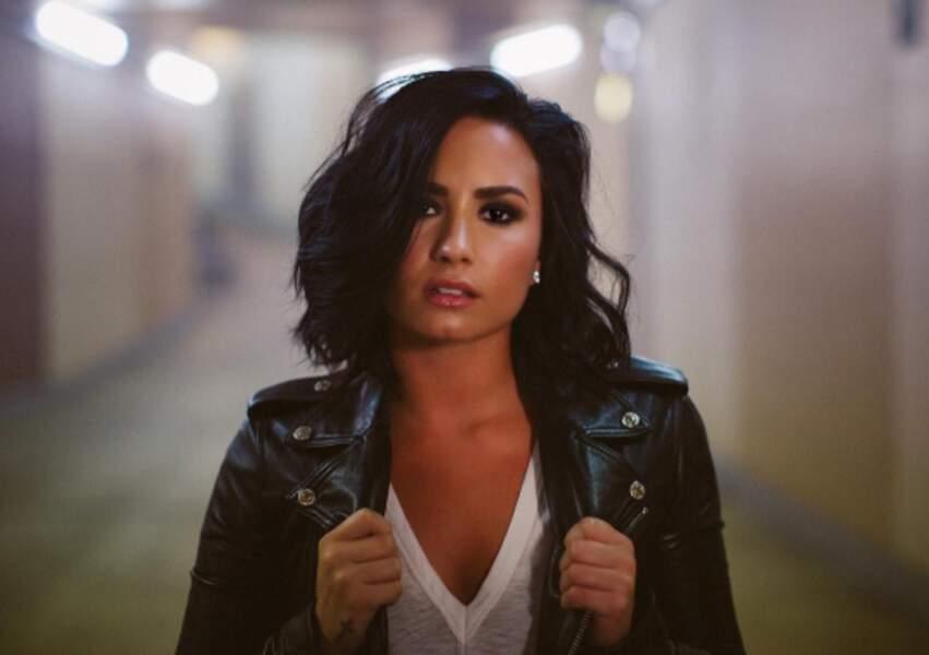 Demi Lovato maquillée...