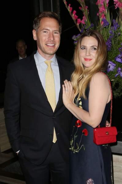 L'actrice Drew Barrymore et Will Kopelman, mariés depuis 2012.