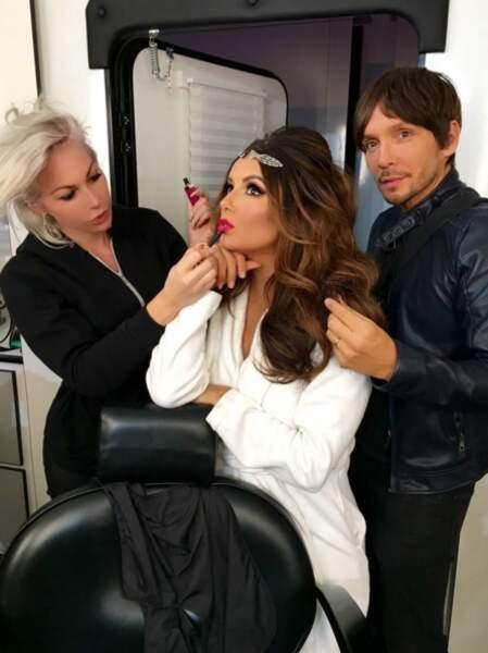 Alors, on pique la maquilleuse du clan Kardashian ?