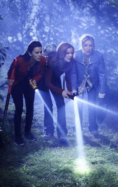 Non, les Desperate Housewives ne font pas de la randonnée nocturne...