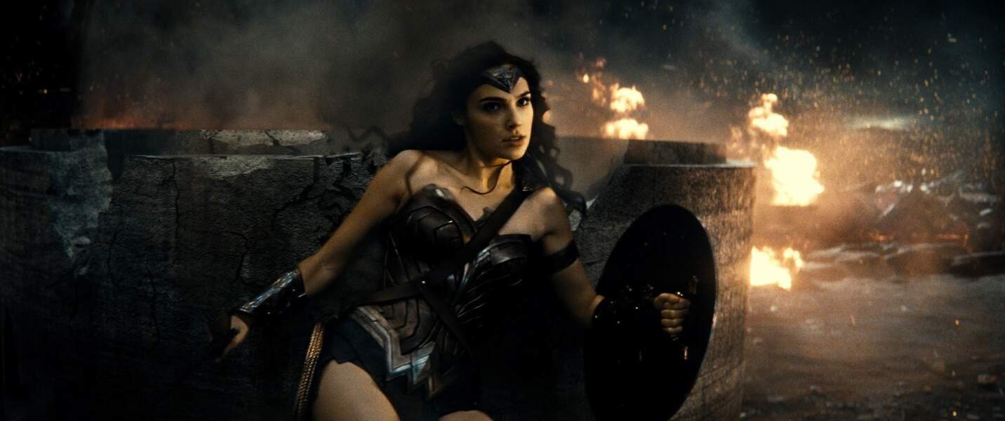 Gal Gadot en Wonder Woman dans Batman v Superman : L'Aube de la justice (23/03)