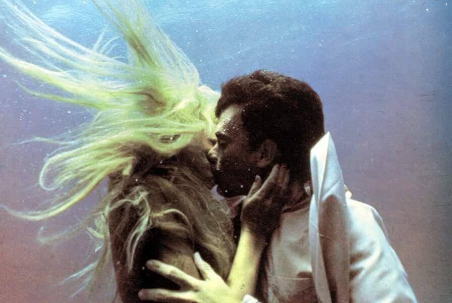 Avec une sirène : Tom Hanks et Daryl Hannah dans Splash (1984)