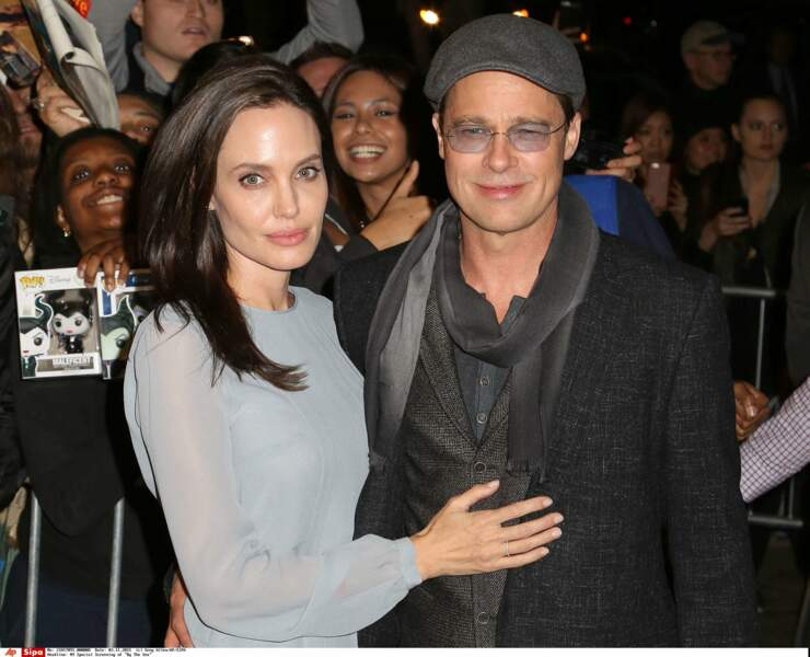 Il se murmure que Brad Pitt menacerait de la quitter si elle ne règle pas ses problèmes alimentaires