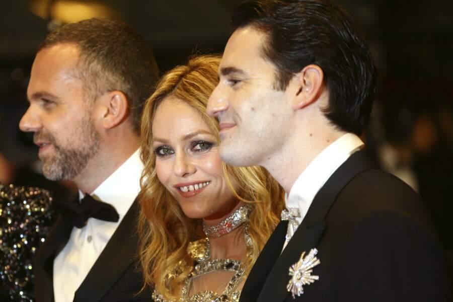 Yann Gonzalez, Vanessa Paradis et Nicolas Maury