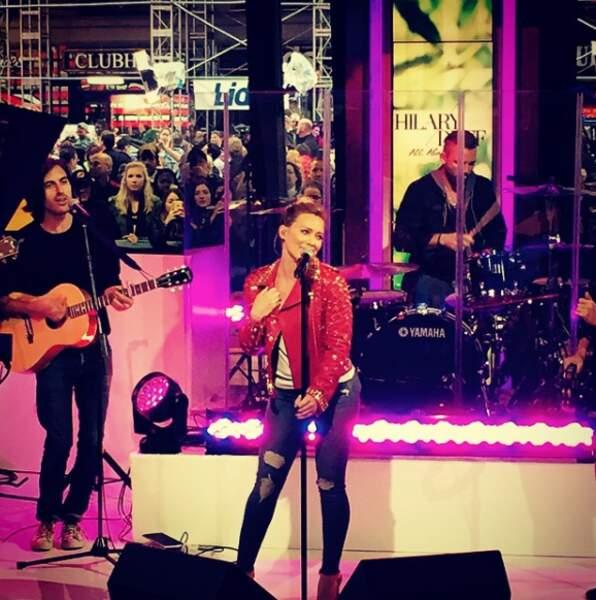 Hilary Duff est aussi chanteuse