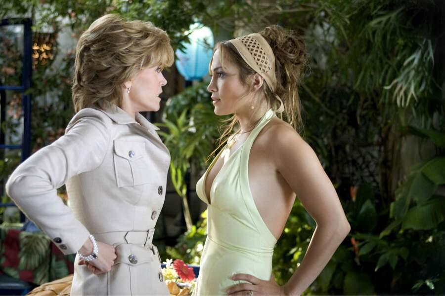 En 2005, elle réalise son grand retour au cinéma avec une comédie qui l'oppose à Jennifer Lopez : Sa mère ou moi !