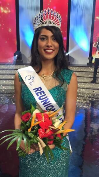 Audrey Chane Pao Kan (19 ans) a été élue Miss Réunion