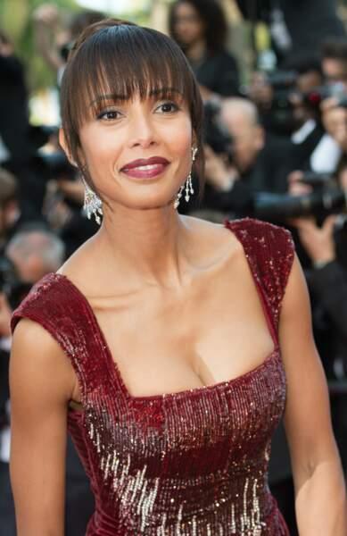 Sonia Rolland, ex-Miss France, venue découvrir le film Loving de Jeff Nichols