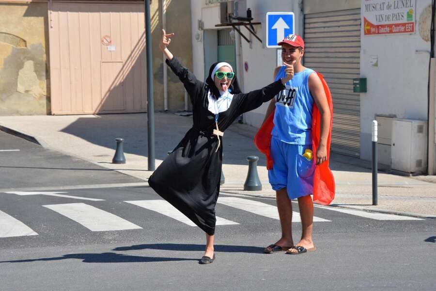 Sister Act show sur les routes du Tour