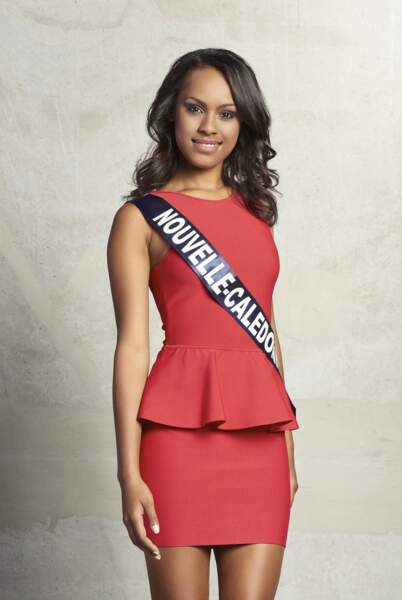 Gyna Moereo, Miss Nouvelle-Calédonie