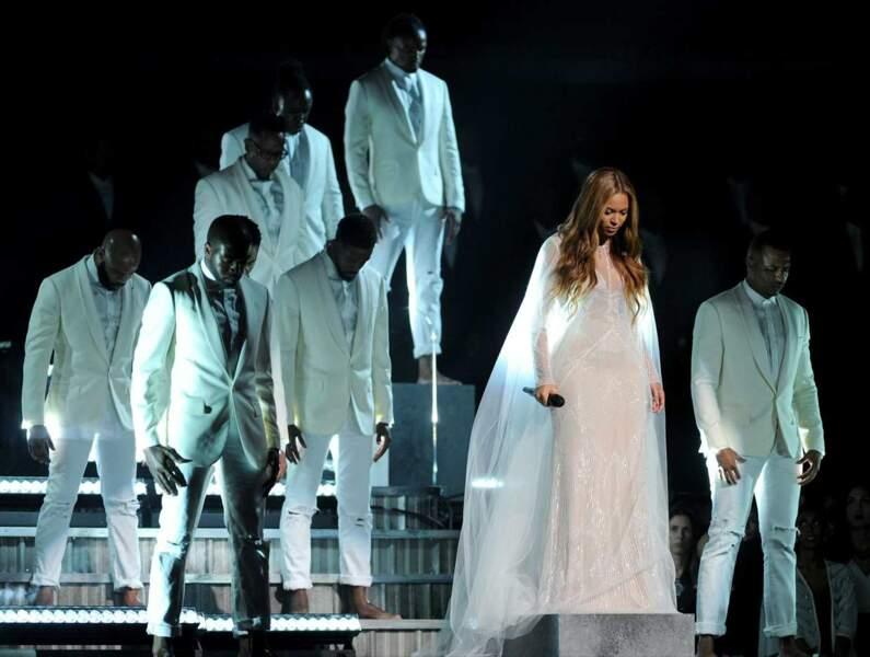 La diva Beyoncé a fait le show, comme l'an passé !