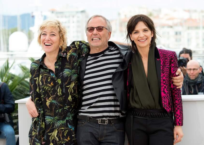 Quel joli trio ! Et quel sourire Fabrice !