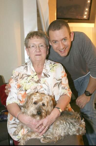 Avec sa maman, Daniele