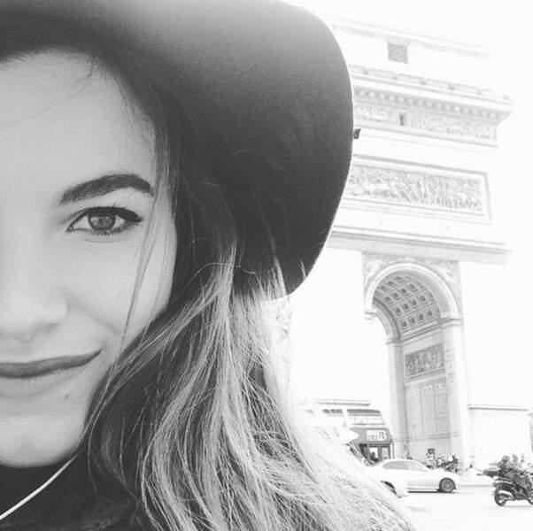 Pour The Voice, Gabriella a eu la chance de découvrir Paris