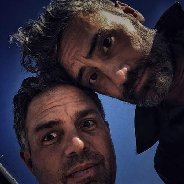Selfie (bis) avec le réalisateur du film Taika Waititi