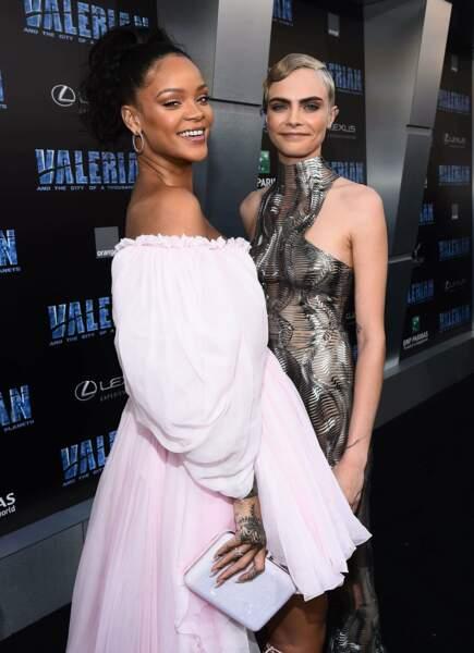 Rihanna et Cara Delevingne étaient ultra complices