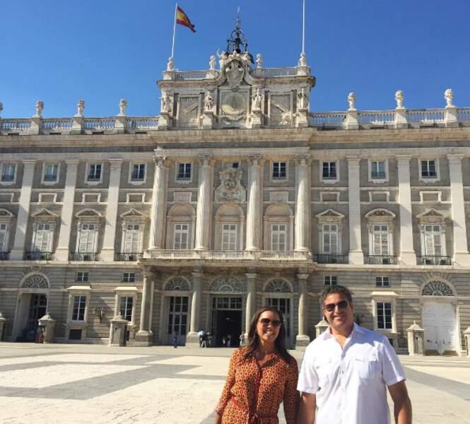 Et premier anniversaire de mariage célébré à Madrid pour Vanessa Williams (Desperate Housewives) !