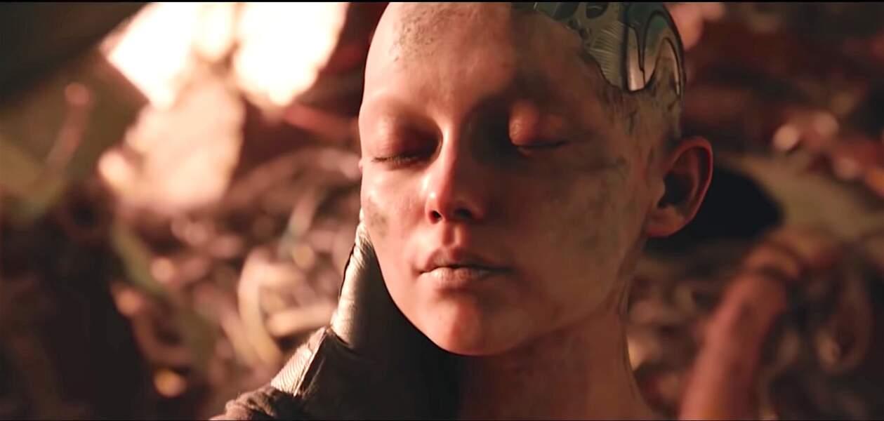 C'est dans cette décharge que le docteur Dyson Ido découvre la tête d'un cyborg.