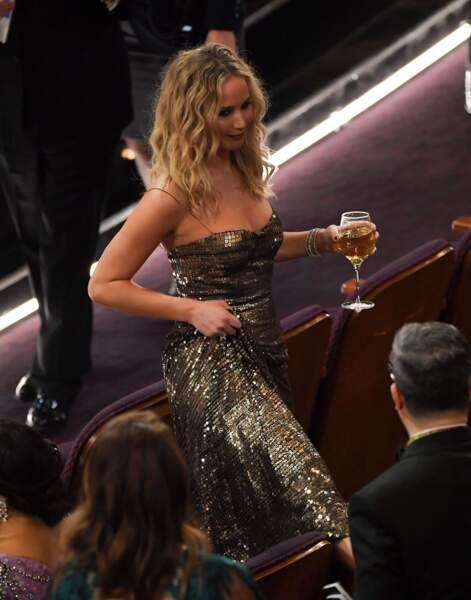 A la tienne Jennifer Lawrence !