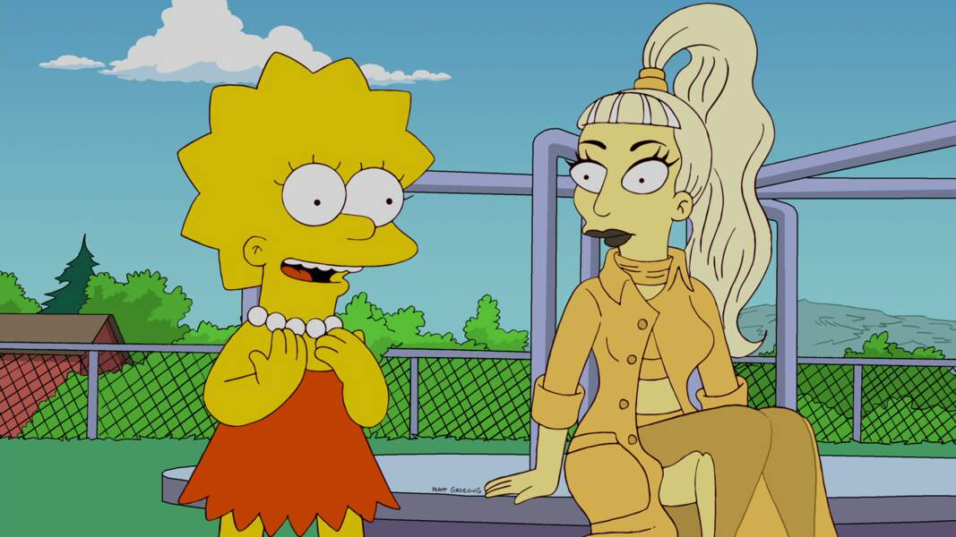 Elle est plutôt bonne copine avec Lisa.