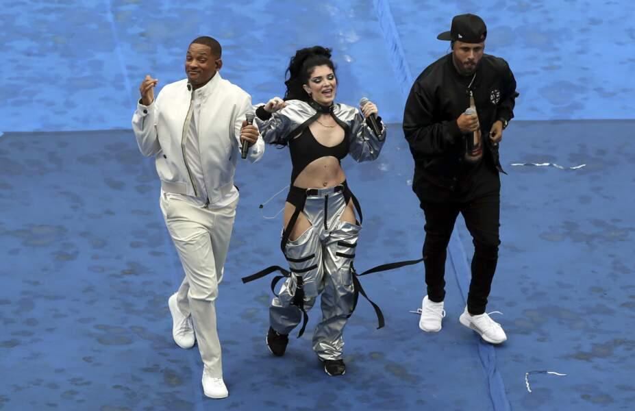 Will Smith, Era Istrefi, et Nicky Jam ont fait le show pendant la cérémonie de clôture