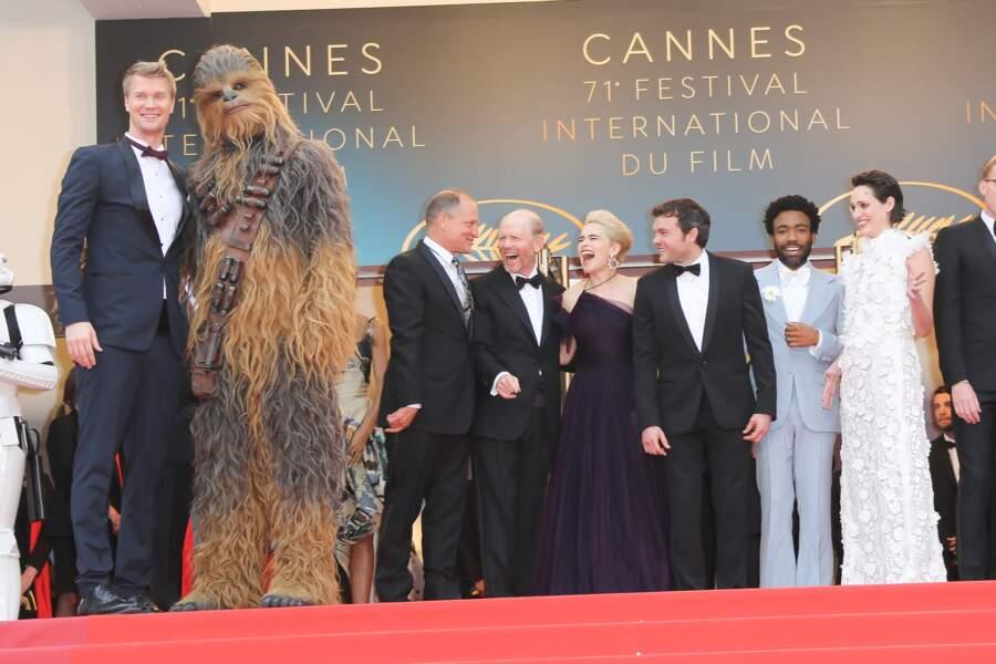 Le cast de Solo : A Star Wars Story