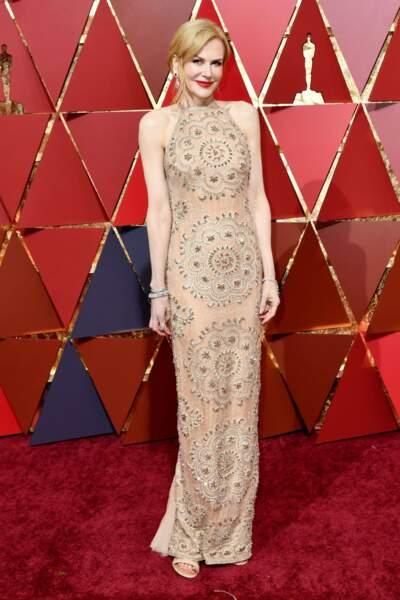 Nicole Kidman, élégance tout en transparence
