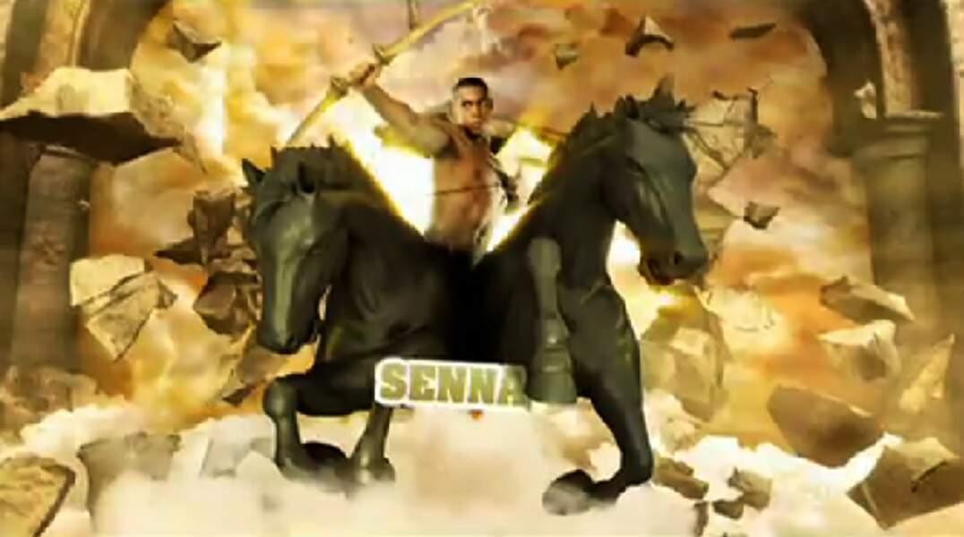 """Senna (Saison 4). Son secret : """"Nos ex' sont dans la maison"""" (avec Coralie et Stéphanie)"""