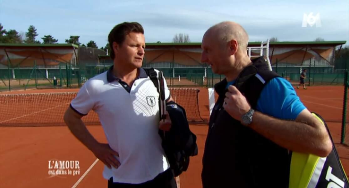 Point Roland-Garros avec Yann, toujours aussi élégant