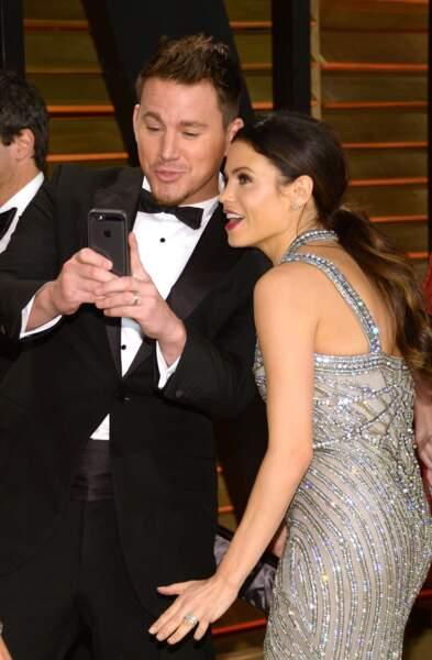 Channing Tatum et Jenna Dewan tentent un petit selfie