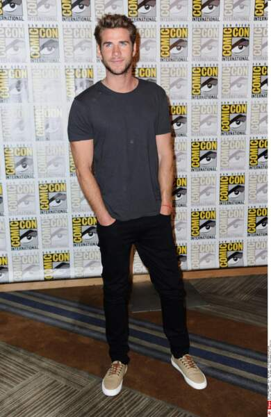 Même chose pour son partenaire Liam Hemsworth