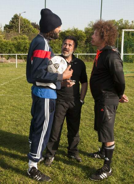 Ramzy, José Garcia et Joey Starr