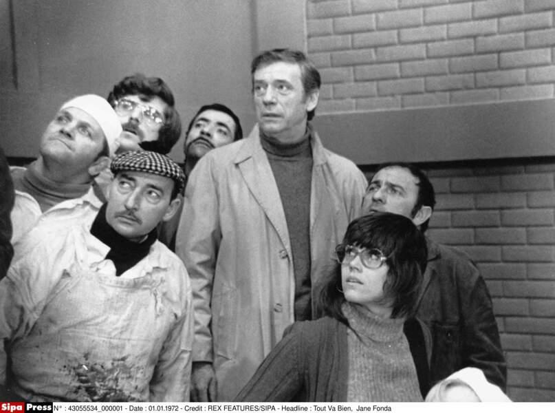 En 1972, elle tourne avec Yves Montand sous la direction de Jean-Luc Godard et Jean-Pierre Gorin dans Tout va bien