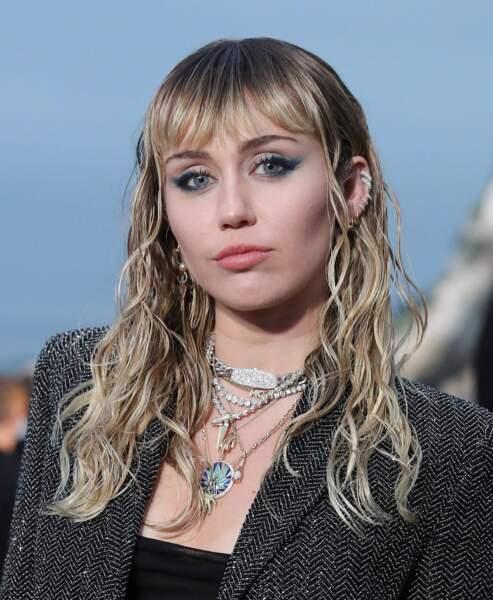 Miley Cyrus, née le 23 novembre 1992.