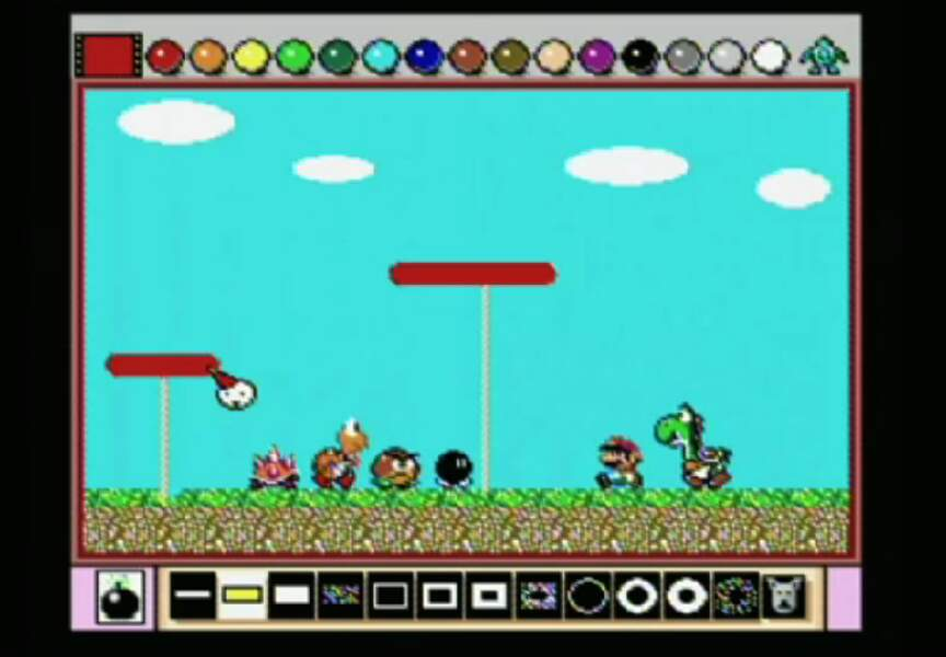 1992 - Mario Paint (Super Nintendo)