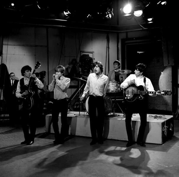 Les Rollings Stones en 1963
