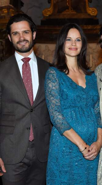 Bébé royal prévu pour 2016 pour Carl Philip et Sofia de Suède.