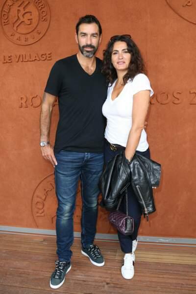 L'ancien footballeur Robert Pirès et son épouse Jessica