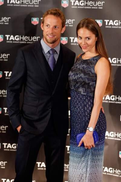 La ravissante Jessica Michibata partage le quotidien de Jenson Button