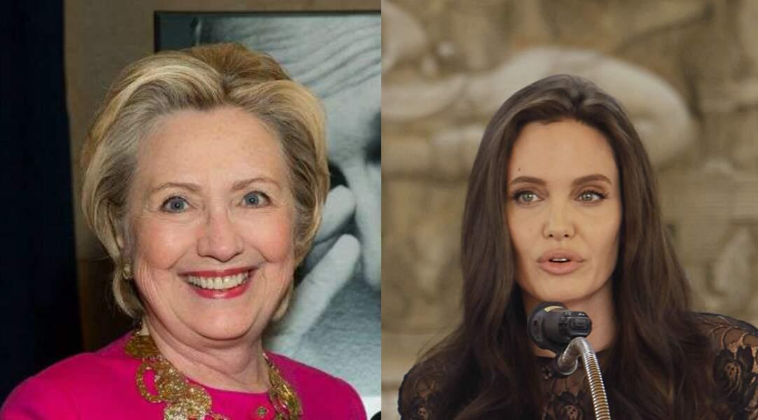 """Jean Cusson, ça ne vous dit rien ? Ce Normand émigré a deux sacrées """"fillottes"""", Angelina Jolie et Hillary Clinton."""