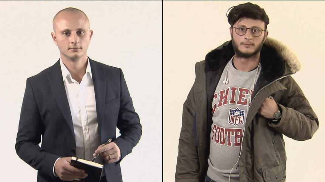 Axel Mahdessian, directeur du développement de Patacrêpe, avant et après