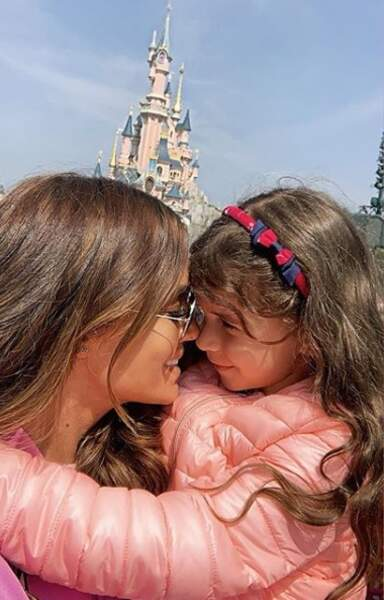 Petit bisou à Disneyland