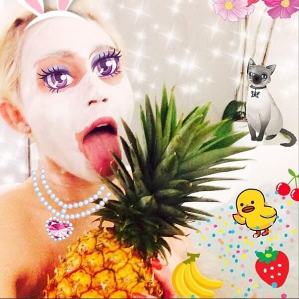 On ouvre la parenthèse Miley Cyrus avec des photos... étranges