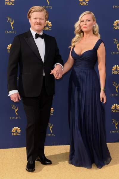 Quelques mois après avoir donné naissance à son bébé, Kirsten Dunst est sublime avec son fiancé Jesse Plemons