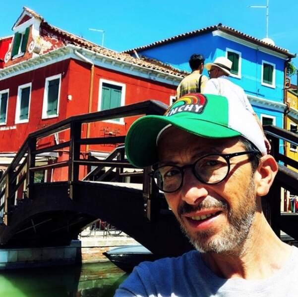 Florian Gazan fait un peu de tourisme du côté de l'île de Murano