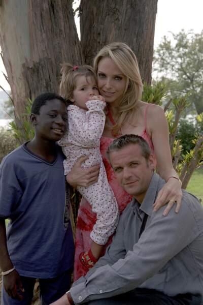 Ibrahim Koma a joué Zacharie, le fils adoptif de Baptiste et Jessica. A la fin de la série, il devient papa.