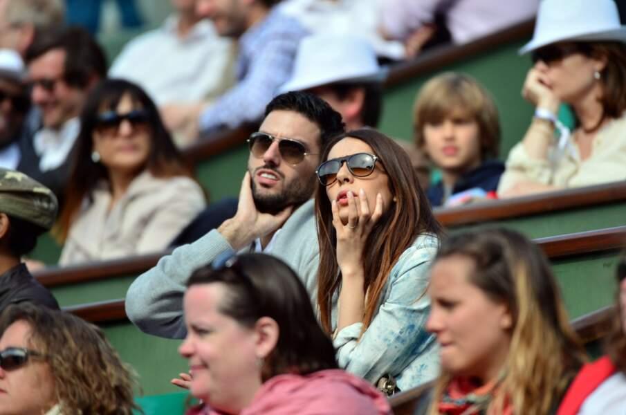 Point people N°1 : Sofia Essaidi est venue faire un tour dans les gradins de Roland-Garros.