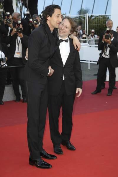 """""""Mais il est grand en vrai ce Adrien..."""" doit se dire Mathieu Amalric"""