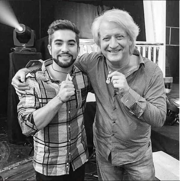 Avec Patrick Sébastien