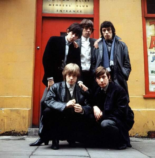 Les Rolling Stones en 1964
